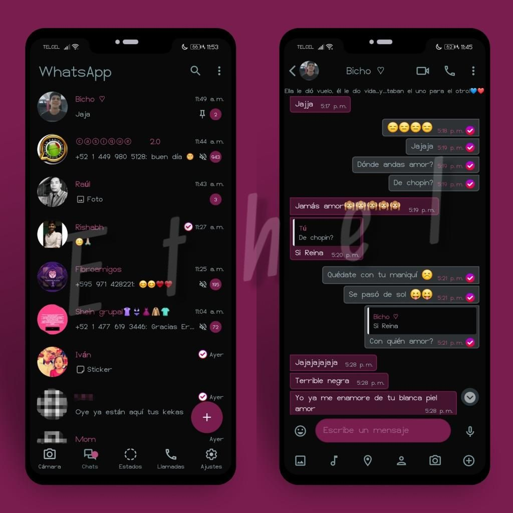 Light Dark Theme For YOWhatsApp & Fouad WhatsApp By Ethel in 20 ...