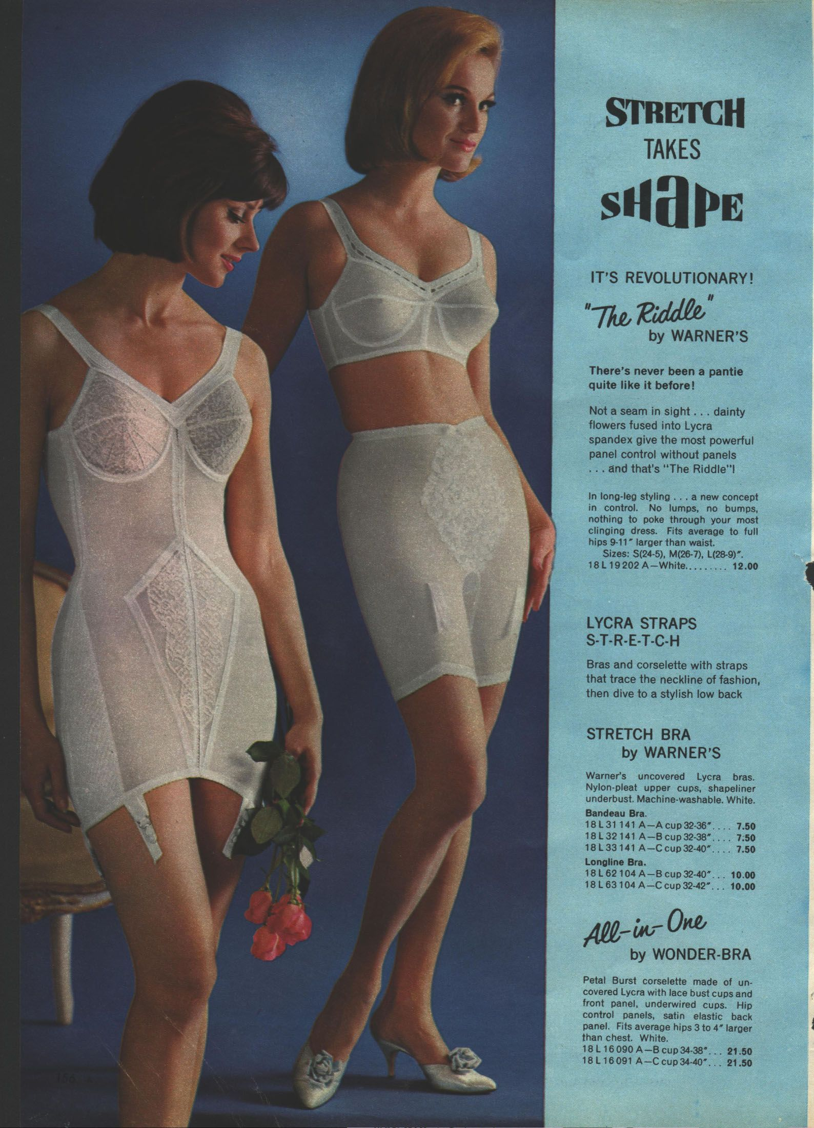 059740ef20 Warner´s The Riddle - bra and girdle - all-in-one            ooohh ...
