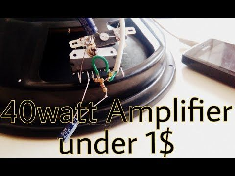 Make Speaker Louder And High Bass Using Choke Coil And