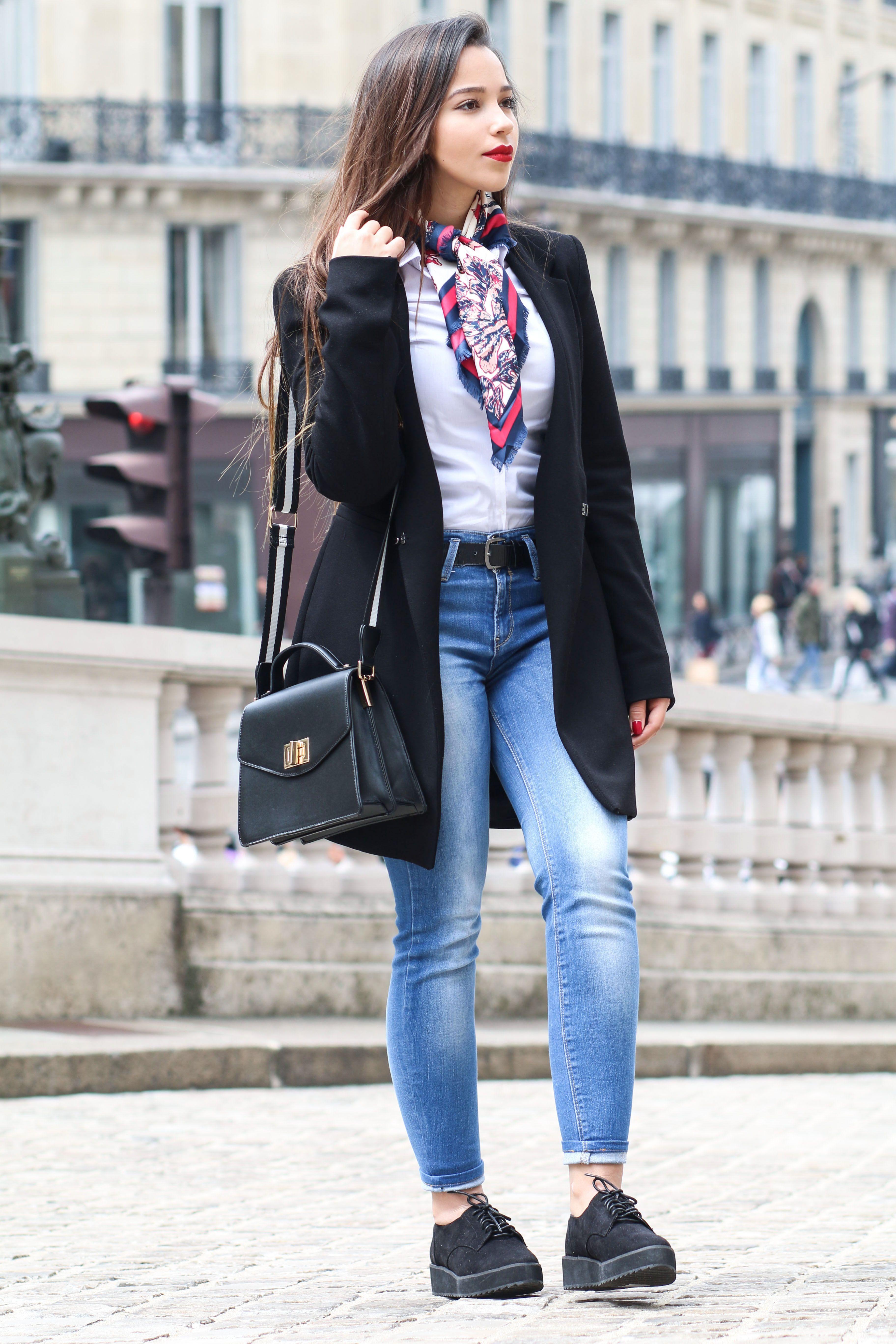 Parisian look , working girl style , fashion