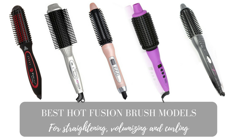 Best Hot Fusion Brush Reviews 1 Round Brush Hair Dryer Hair Dryer Brush Straightening Curly Hair