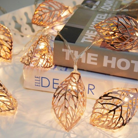 detailed look 5bae2 06a35 Copper Leaf LED String Lights By Ashland™   The Fall   Led ...