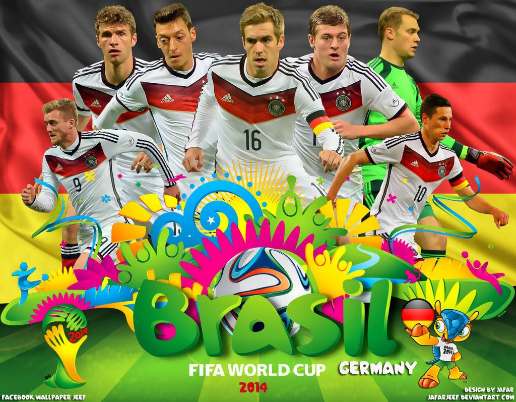 Germany World Cup 2014 Wallpaper By Jafarjeef On Deviantart World Cup 2014 World Cup Fifa World Cup