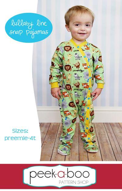 Lullaby Line Snap Pajamas | Pinterest