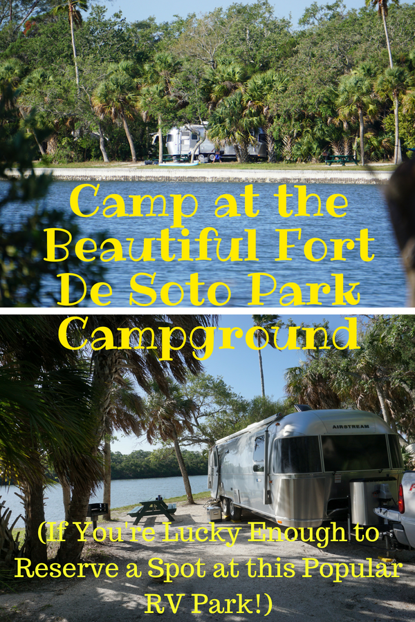 Fort De Soto Park Rv Park And Fl Manatees At Three Sisters Springs Rv Parks Camping Destinations Camping Locations