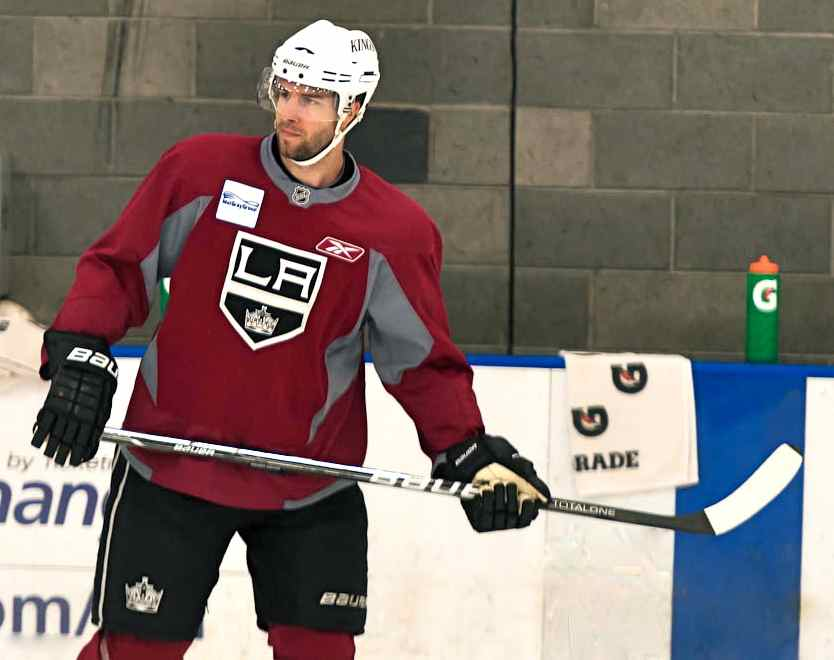 Los Angeles Kings Left Wing Simon Gagne Is Healthy Once Again Los Angeles Kings Left Wing King