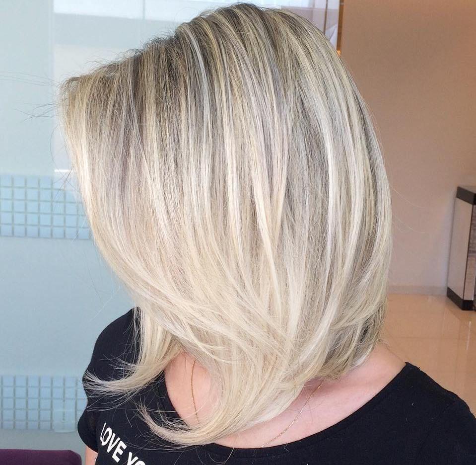 inspiring long bob hairstyles and haircuts medium layered fine