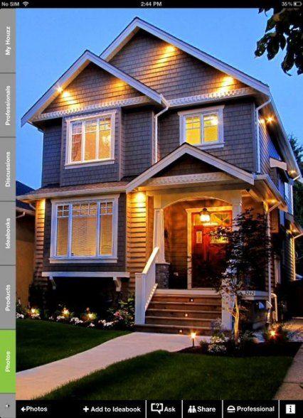 42 Ideas for house exterior suburban home   House exterior ...