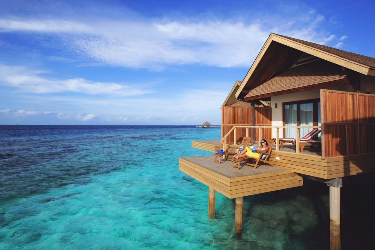 Reethi Faru Resort Maldives Overwater Bungalows Maldives