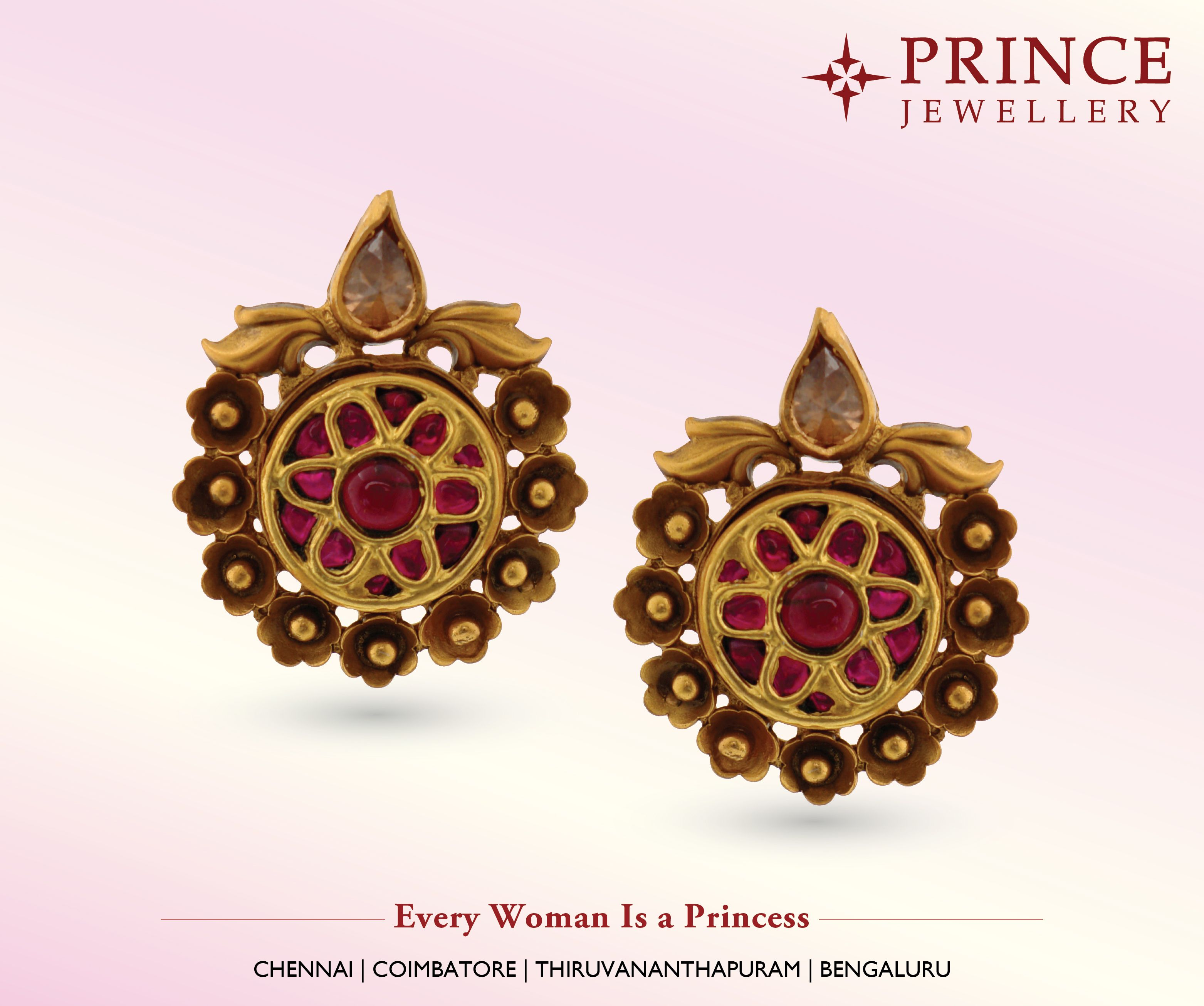 Shop unique and beautiful Gold Earring collections from Prince ...