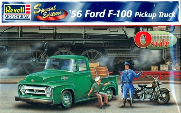 O Scale Revell-Monogram '56 Ford F-100 Pickup Truck ''Special Edition''