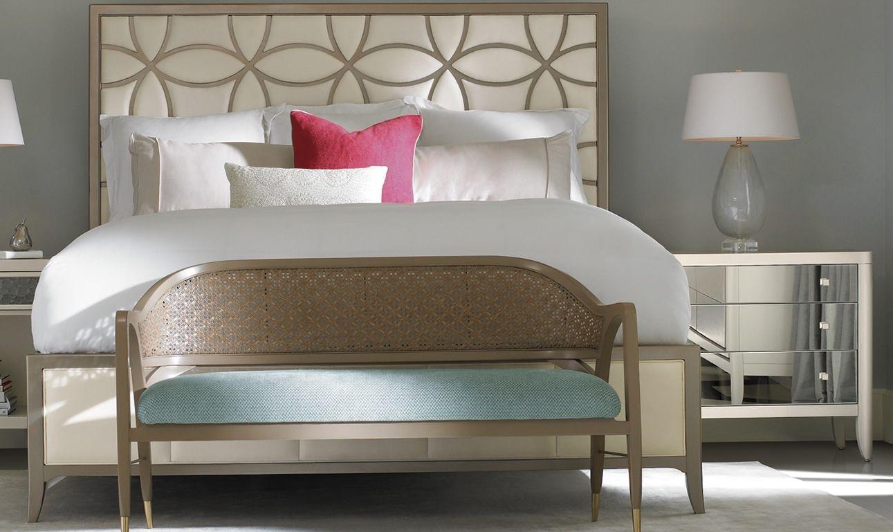 CC BED   Purple bedroom decor, Caracole furniture, Bedroom ...