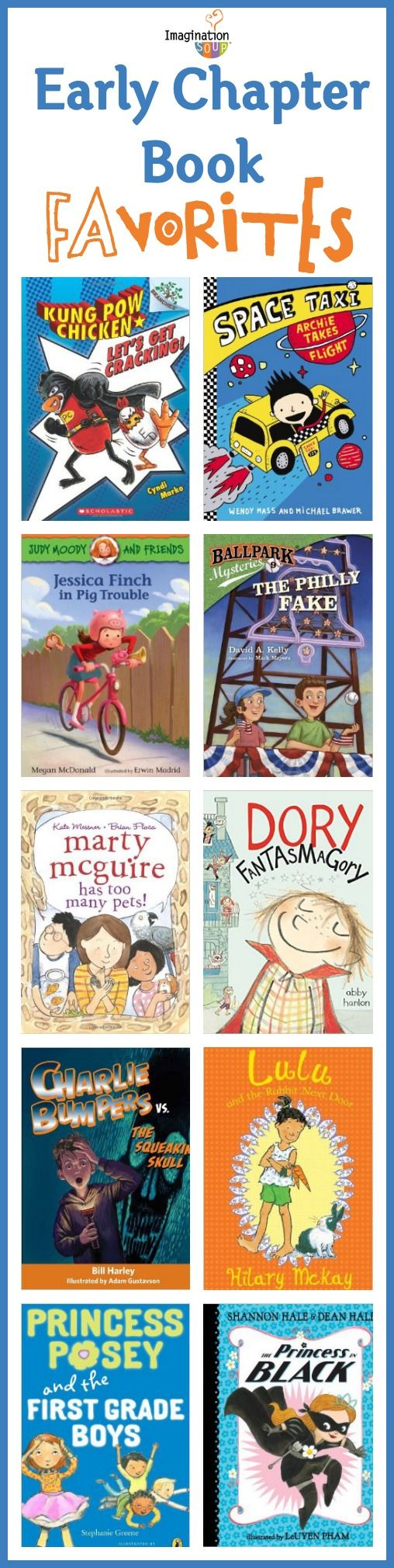Early Chapter Books For The Cybils Awards
