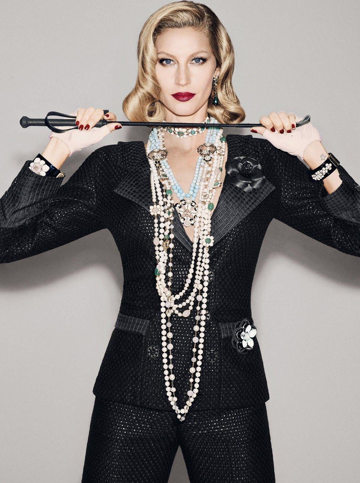 Gisele Bündchen by François Nars for Vogue Brazil December 2015 @voguebrasil