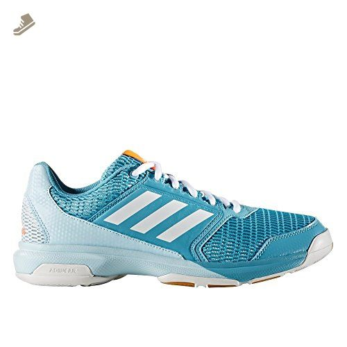 Adidas Multido Essence Indoor Shoes - Womens - US 7.5 - Blue - Adidas  sneakers for