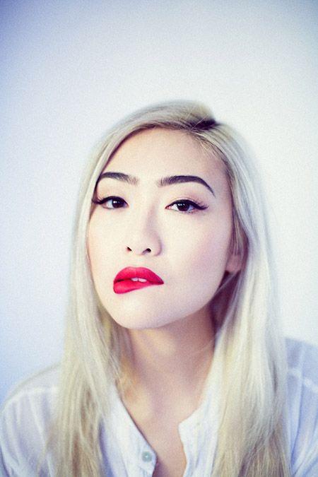 1 Tumblr In 2019 Bleached Hair White Blonde Hair