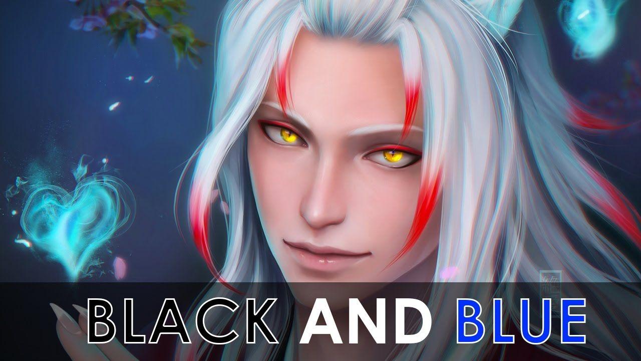 「AMV」Anime mix Black and Blue (med billeder)