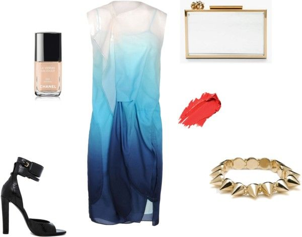 """""""Color and edge"""" by mcclellandjenna on Polyvore"""