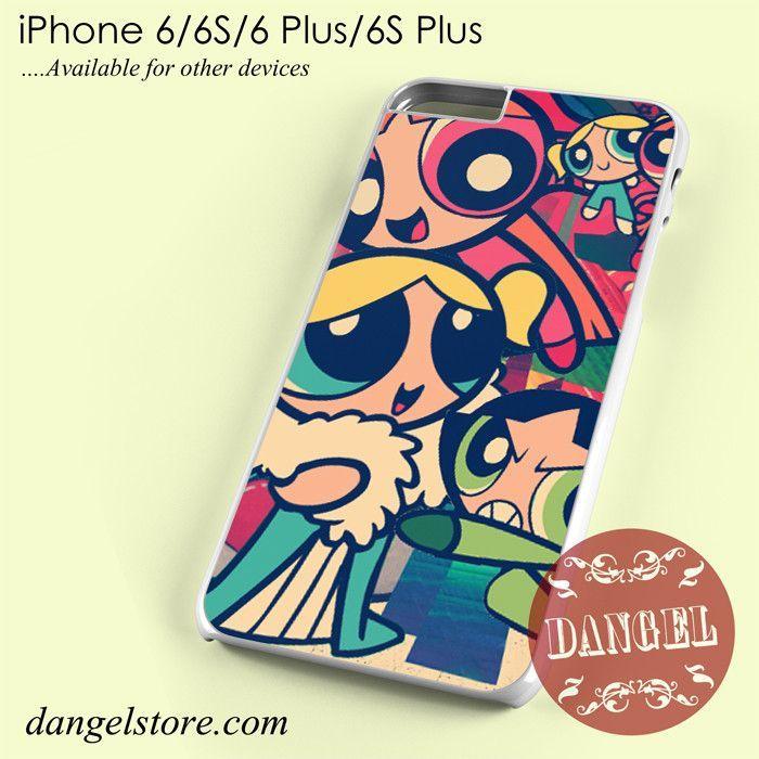 The Powerpuff Girls Art Phone Case for iPhone 6/6s/6 Plus/6S Plus