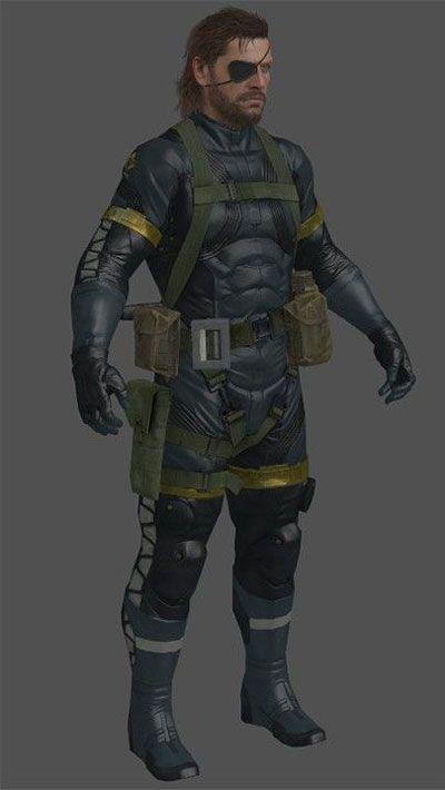 Metal Gear Solid 5 Ground Zeroes Big Boss Cosplay