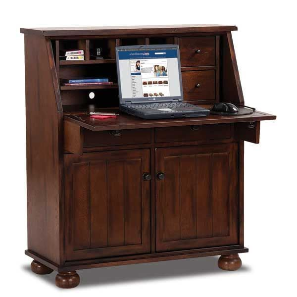 American Furniture Warehouse Online Shopping: Oxford Oak Drop Leaf Laptop Desk By Sunny Designs Is Now