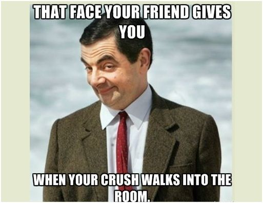 Funny Memes For Your Crush : 25 funny things you do when you see your crush meme pinterest