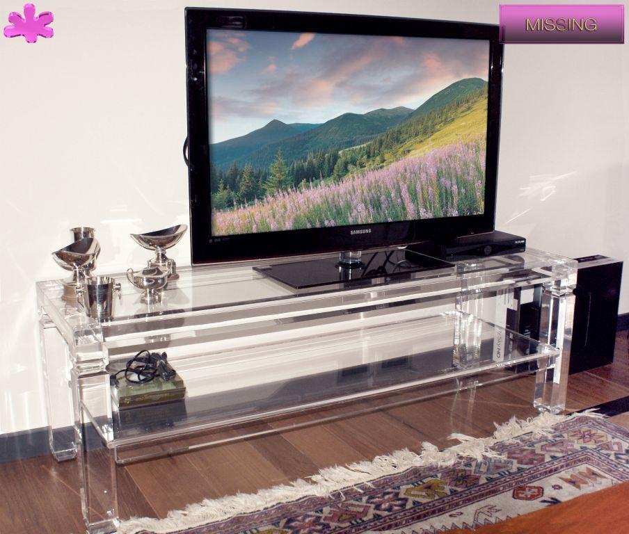 Foto Mobili Tv.Mobili Tv In Plexiglas 01 Mobile Trasparente In