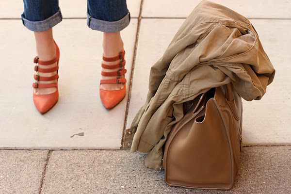 shoes + coat