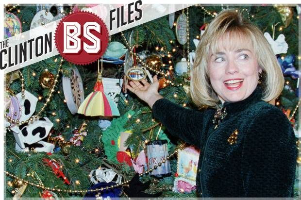 Hillary Clinton Christmas.The Clinton Bs Files Hillary Didn T Decorate The White House