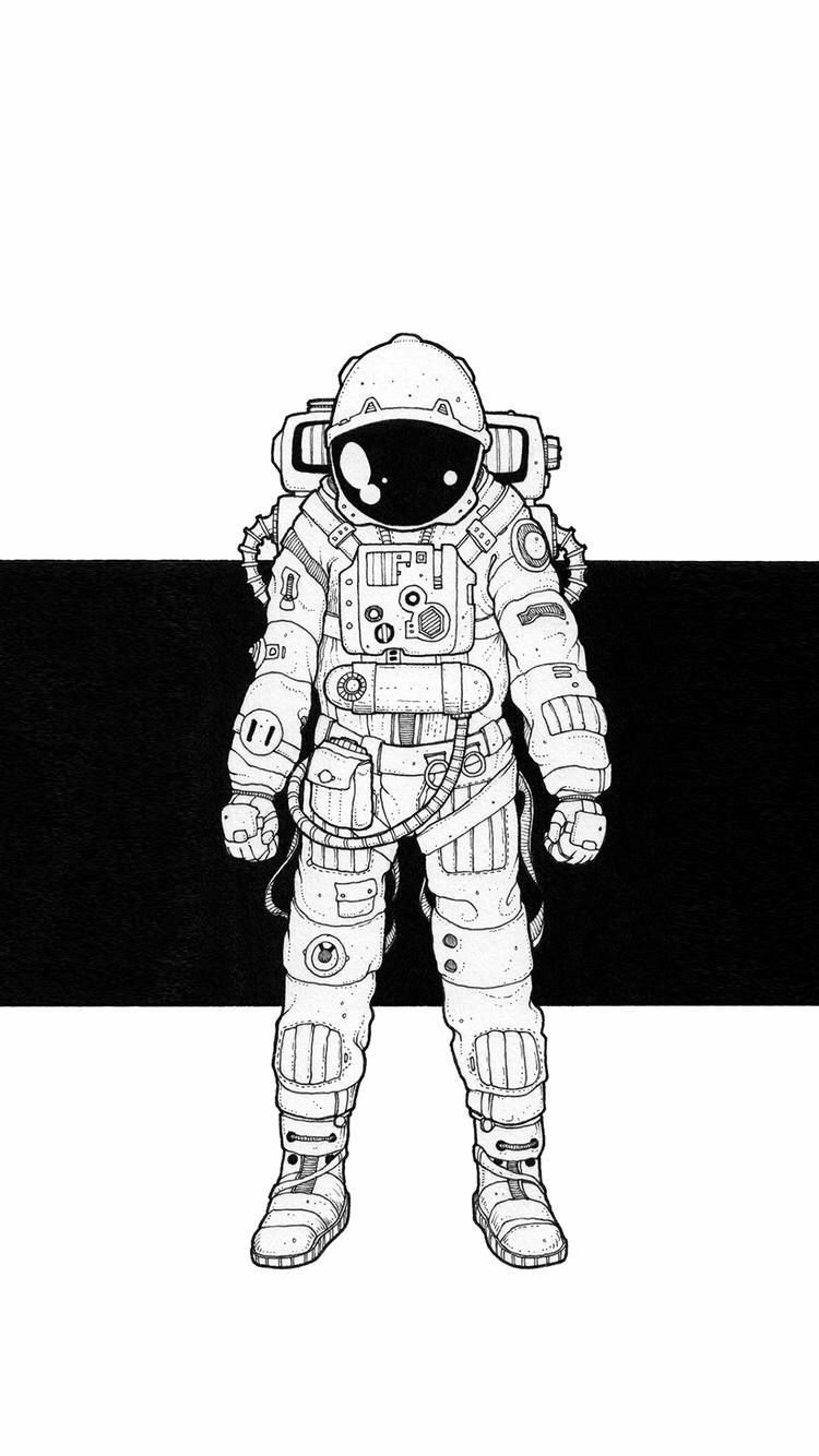Fondos | deviantART | Tatuaje de astronauta, Astronauta ...