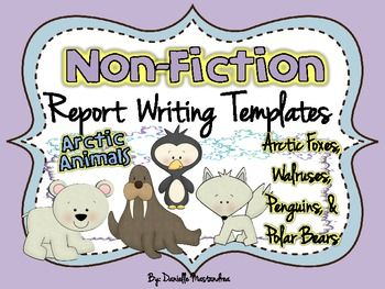 front page of report writing