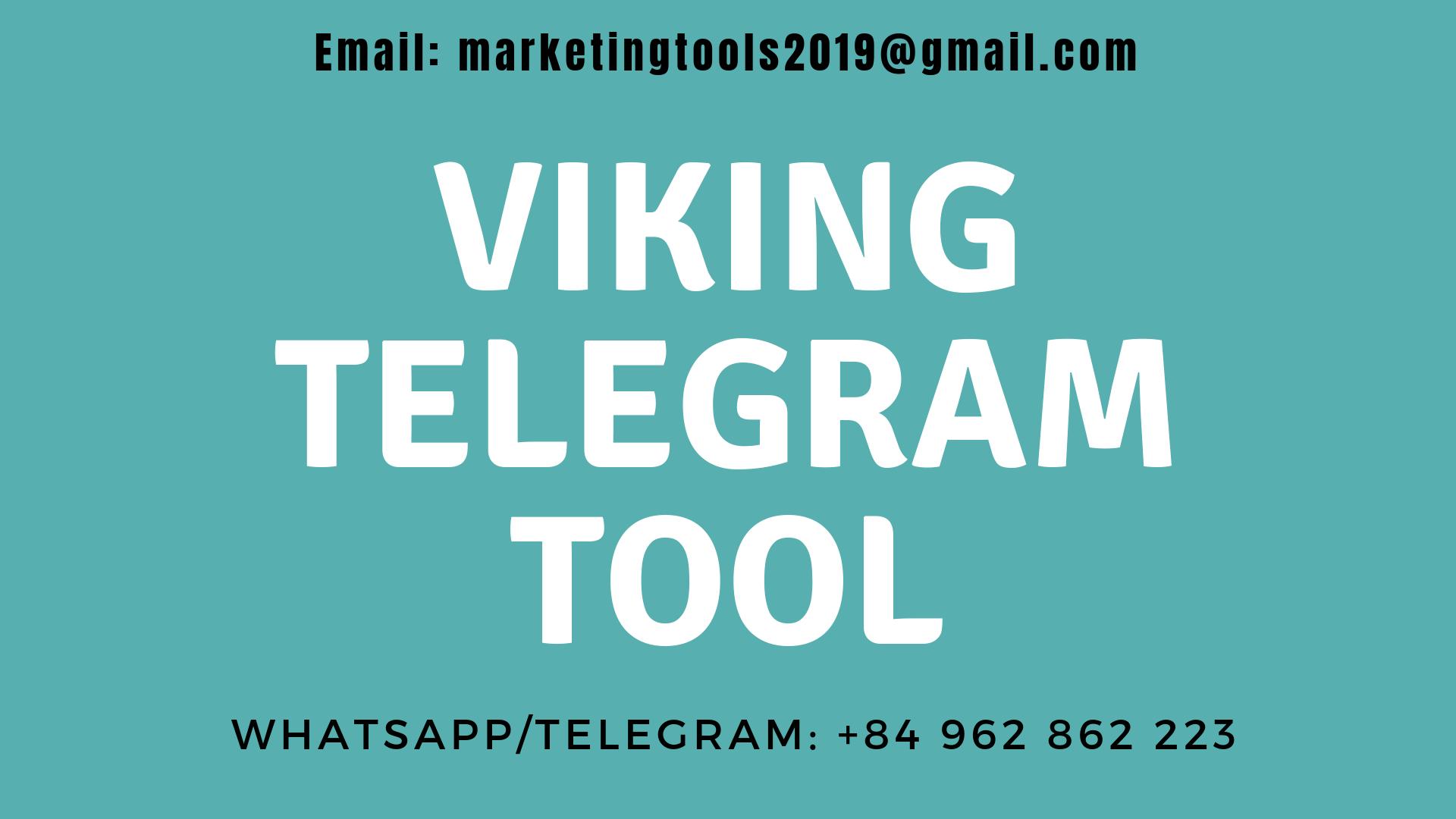 Viking Telegram Tool - Telegram Marketing Software - Viking Telegram