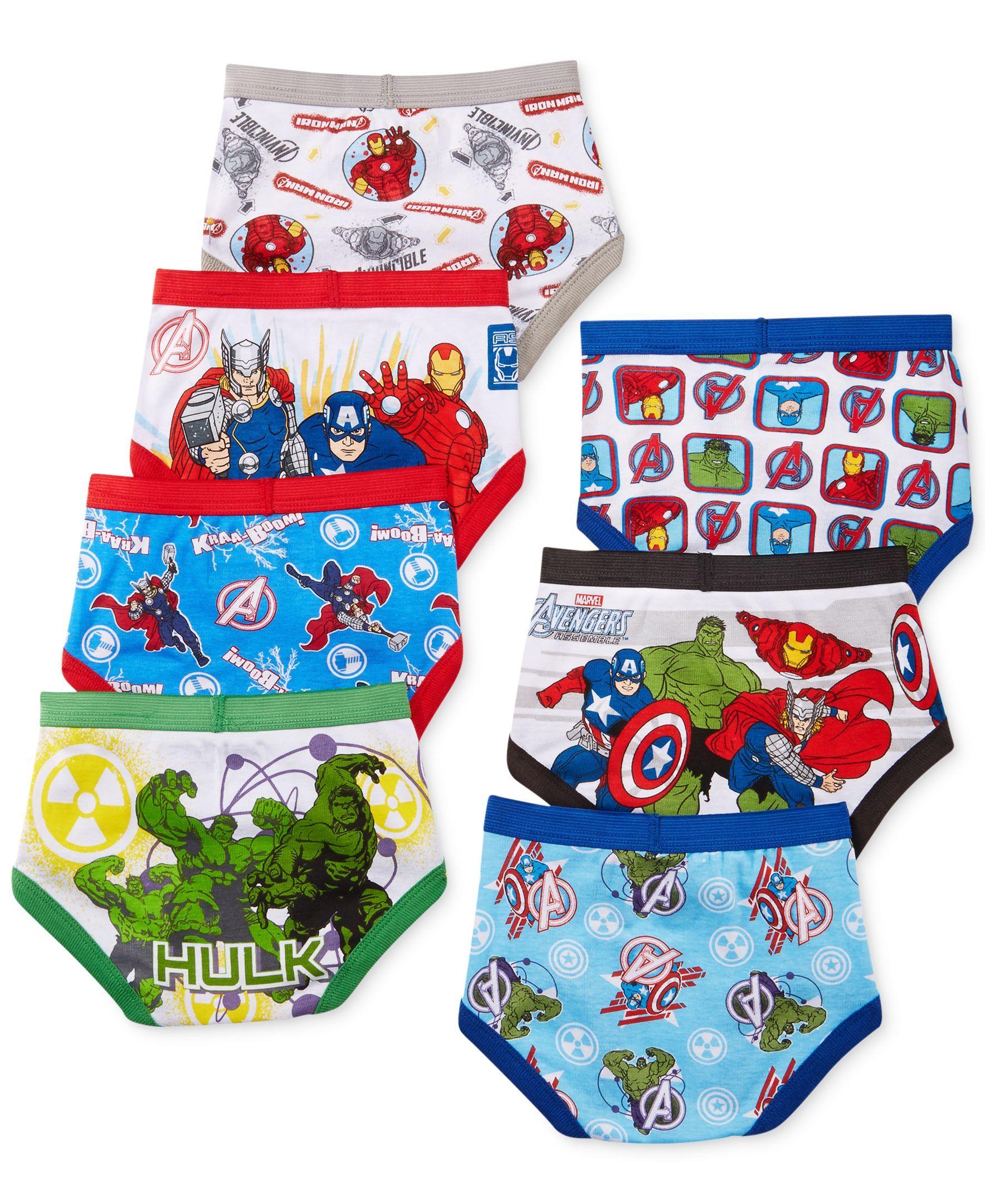 5f63d595d Avengers Toddler Boys  7-Pack Briefs