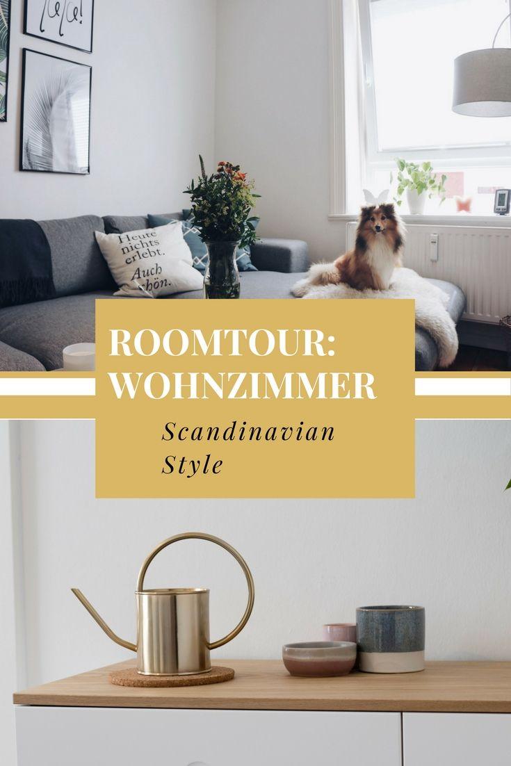 Roomtour: Scandinavian Living Room   Pinterest   Skandinavischer ...