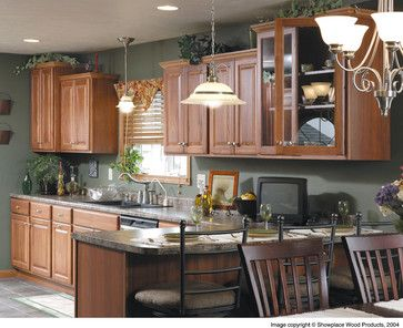 Color Ideas With Hickory Cabinets