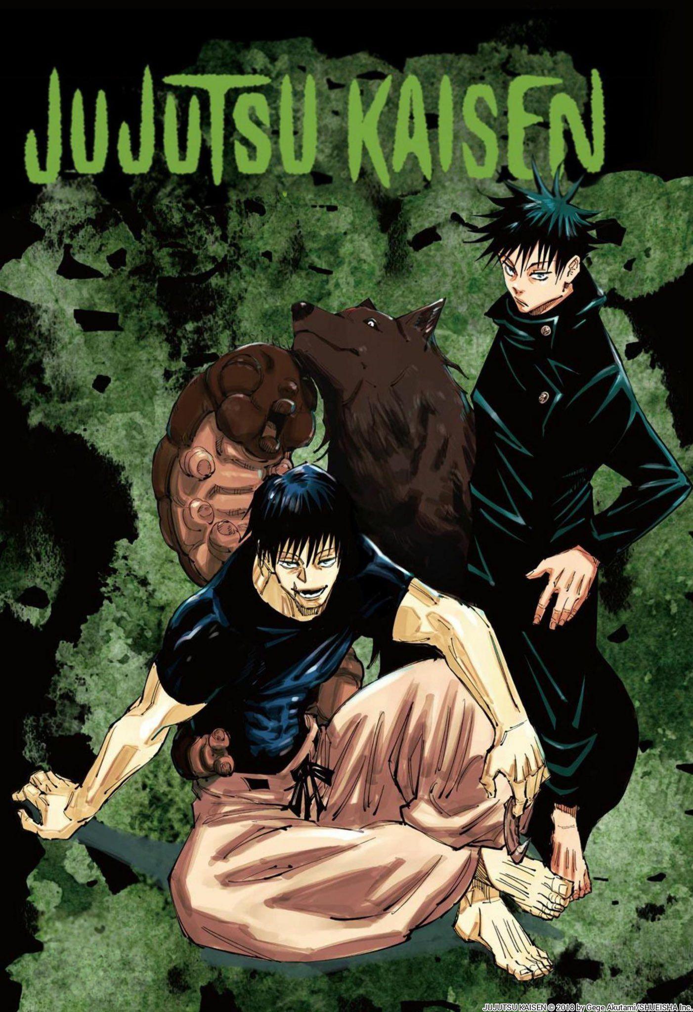 Val On Twitter In 2021 Jujutsu Manga Covers Anime Wall Art