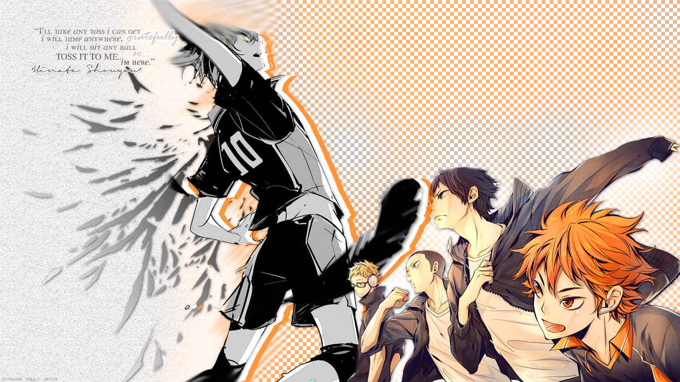 Haikyuu Manga Wallpaper