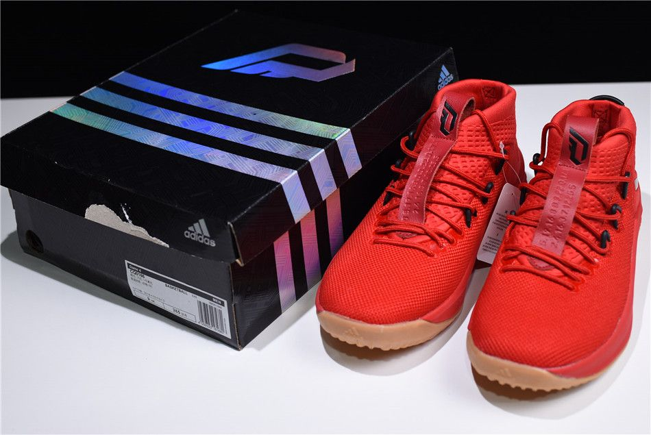 more photos 7355d 3207a ... release date 0cd10 7b239 promo code for 2018 new adidas dame 4 400  degreez red gum scarlet high resolution red