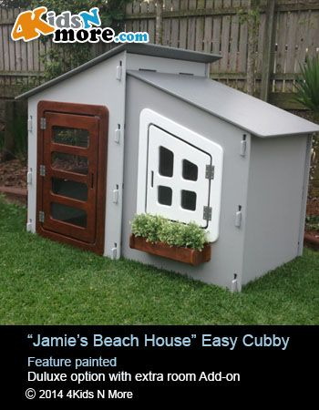 Easy cubby with extra room add-on Enquiries Di 0413 222 815