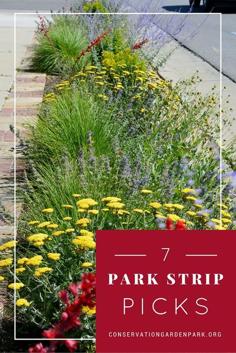 flip-your-strip | Front yard | Pinterest | Garden park, Gardens and ...