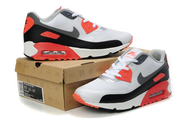 run shoes wholesale online top design Nike Air Max 90 Hyp Prm Mens Red Ashy Silver | Nike air max, Air ...