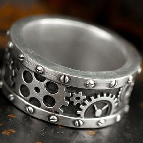 Love this from @custommade - http://www.custommade.com/steampunk-industrial-gear-ring/by/rockmyworldinc/