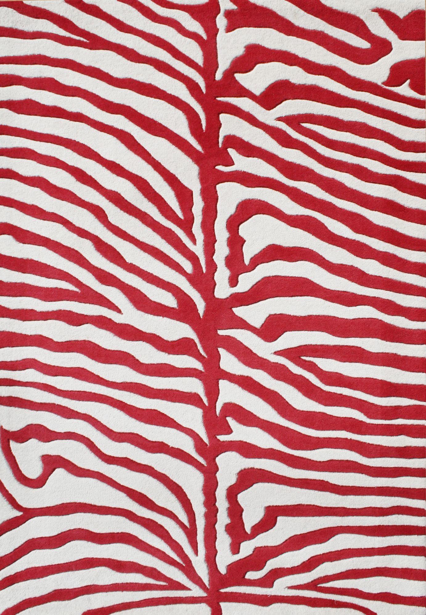 Animal Print Red