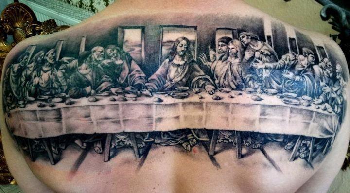 last supper3 tattoos i like christian tattoos