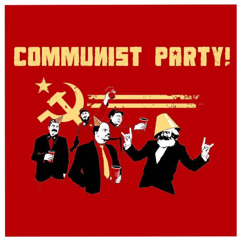 Image Result For Communism Its A Party Poster Graphic Materials