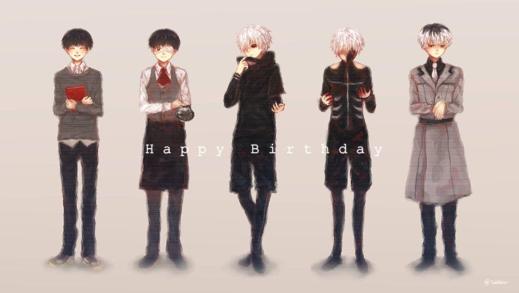 Happy Birthday Kaneki by TrashYashiro.deviantart.com on @DeviantArt