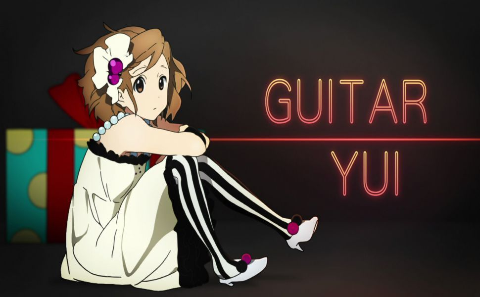 K On Yui Hd Wallpaper Anime Anime Mouse Pads Art
