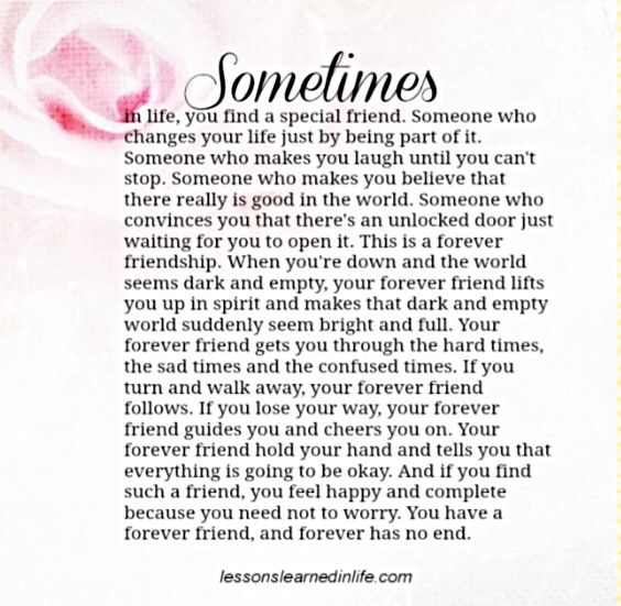 Sometimes in life favorite quotes pinterest friendship from my bestest forever friend nancy thecheapjerseys Choice Image
