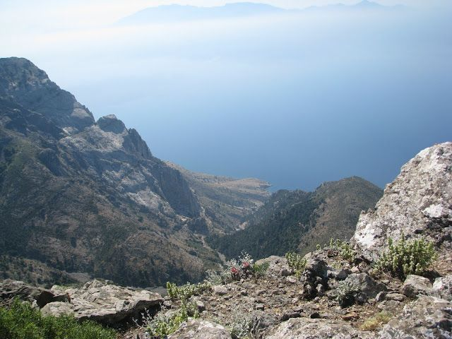 Views from the top of Mount Dikaios on the island of Kos in Greece  http://www.discoveringkos.com/