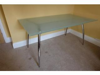 Alternative To The Ikea Glass Desk Ikea Glass Desk Glass Desk Used Stuff For Sale